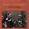 Jascha Heifetz, Violin / Gregor Piatigorsky, Cello - Brahms: Concerto for Violin & Cello -  180 Gram Vinyl Record