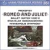 Stanislaw Skrowaczewski - Prokofiev: Romeo and Juliet Suites Nos. 1 & 2 -  180 Gram Vinyl Record