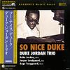 Duke Jordan Trio - So Nice Duke -  180 Gram Vinyl Record