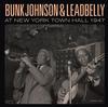 Bunk Johnson & Leadbelly - At New York Town Hall 1947 -  Vinyl Record