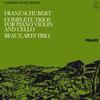 Beaux Arts Trio - Schubert: Complete Trios for Piano, Violin and Cello -  180 Gram Vinyl Record