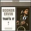 Booker Ervin - That's It -  180 Gram Vinyl Record