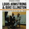 Louis Armstrong & Duke Ellington - Recording Together For The First Time -  200 Gram Vinyl Record
