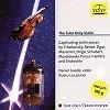 Daniel Gaede, Violin - Xuesu Liu, piano - The Tube Only Violin -  180 Gram Vinyl Record