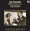 Ida Haendel - Brahms: Violin Concerto In D, Op.77 -  180 Gram Vinyl Record