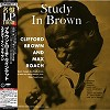 Clifford Brown & Max Roach - Study in Brown -  200 Gram Vinyl Record