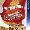 Oleg Caetani - Shostakovich: Symphonies 2 & 12 -  Hybrid Multichannel SACD