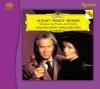 Augustin Dumay and Maria Joao Pires - Mozart/Franck/Brahms: Sonatas For Piano And Violin -  Hybrid Stereo SACD