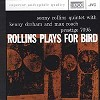 Sonny Rollins Quintet - Rollins Plays For Bird -  XRCD CD