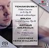 Arthur Grumiaux, violin - Tchaikovsky & Bruch: Violin Works -  Hybrid Multichannel SACD