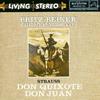 Fritz Reiner - Strauss: Don Quixote, Don Juan -  CD
