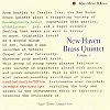 New Haven Brass Quintet - New Haven Brass Quintet, Volume 4 -  Single Layer Stereo SACD