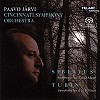 Paavo Jarvi - Sibelius - Symphony No. 2 In D major / Tubin - Symphony No. 5 In B Minor -  Hybrid Multichannel SACD
