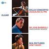 Jacqueline Du Pre - Elgar: Cello Concerto/Sea Pictures -  Vinyl LP with Damaged Cover