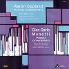 Aaron Copland - Copland/ Menotti: Piano Concerto/ Earl Wild -  Low Serial Numbered Vinyl Record