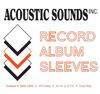 - 12' Outer Record Sleeves -  Record Supplies