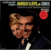 Harold Lloyd, Jr. - Intimate Style -  Sealed Out-of-Print Vinyl Record