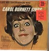 Carol Burnett - Let Me Entertain You -  Sealed Out-of-Print Vinyl Record