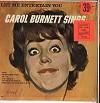 Carol Burnett - Let Me Entertain You -  Sealed Out-of-Print Vinyl Record