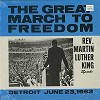 Rev. Martin Luther King - The Great March To Freedom -  Sealed Out-of-Print Vinyl Record