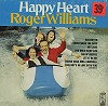 Roger Williams - Happy Heart -  Sealed Out-of-Print Vinyl Record