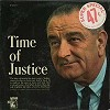 Lyndon B. Johnson - Time For Justice -  Sealed Out-of-Print Vinyl Record