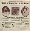 Original Soundtrack - The Vilna Balabessel -  Sealed Out-of-Print Vinyl Record