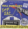 Bull Durham - Songs Of SACk -  Sealed Out-of-Print Vinyl Record