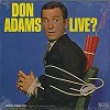 Don Adams - Live?/mono -  Sealed Out-of-Print Vinyl Record