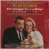 Allan Sherman - For Swingin' Livers Only -  Sealed Out-of-Print Vinyl Record