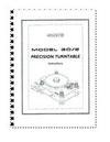 SME - Instruction Book Series IV -  System Set Up Tools