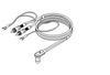 SME - Audio Lead Series V (vdh D501 Silver hybrid + Black) -  Phono Cables