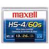 Maxell - HS-4/60s 1.3Gb/2.6Gb 60 Meter 4mm Data Cartridges -  Blank Cassettes