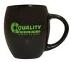 Quality Record Pressings - Black Matte/Lime Green QRP Barrel Mug -  Merchandise