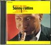 Sonny Rollins - Now's The Time -  Preowned Gold CD