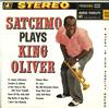 Louis Armstrong - Satchmo Plays King Oliver -  Preowned Vinyl Record