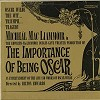 Original Dublin Cast - The Importance Of Being Oscar /m - - -  Preowned Vinyl Record