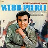 Webb Pierce - Merry Go-Round World -  Preowned Vinyl Record
