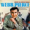 Webb Pierce - Merry Go-Round World -  Preowned Vinyl Record