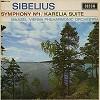 Maazel, VPO - Sibelius: Symphony No.1, Karelia Suite -  Preowned Vinyl Record