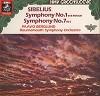 Paavo Berglund - Sibelius: Symphonies No.s 1 & 7 -  Preowned Vinyl Record
