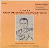 Henryk Szeryng - Lalo: Symphonie Espagnole -  Preowned Vinyl Record