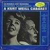 Original Cast Recording - A Kurt Weill Cabaret -  Sealed Out-of-Print Vinyl Record