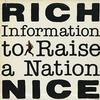 Rich Nice - Information To Raise A Nation -  Preowned Vinyl Record