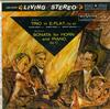Victor Babin, Joseph Eger, Henryk Szeryng - Brahms: Trio in E-Flat, Op. 40--Beethoven: Sonata for Horn and Piano, Op 17 -  Preowned Vinyl Record