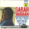 Sarah Vaughan - You're Mine You -  Preowned Vinyl Record