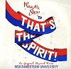 Northwestern University 1976 - That's The Spirit! -  Sealed Out-of-Print Vinyl Record