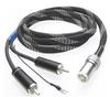 Pro-Ject - 1.23M DIN to RCA CC Tonearm Cable with Ground Wire -  Phono Cables