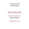 Xavier Phillips, Les Dissonances and David Grimal - Shostakovich: Cello Concerto No.1 & Symphony No.5 (Live) -  FLAC 96kHz/24bit Download