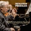 Menahem Pressler, Kimbo Ishii and Magdeburg Philharmonic - Mozart: Piano Concertos No. 23 & No. 27 -  FLAC 48kHz/24Bit Download